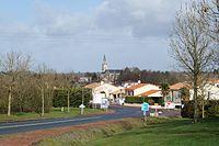 Entrée sud du bourg de Fougeré (Éduarel, 12 février 2016).JPG