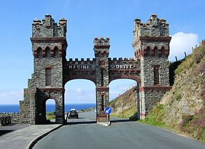 Douglas Head - Former toll gate on Marine Drive, which takes you to Douglas Head.