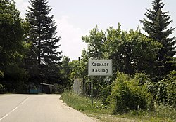 Entrance road to Kasilag, Pernik Province.JPG