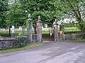 Entrance to Cefn-y-Parc Cemetery, Penygawsi - geograph.org.uk - 861273.jpg