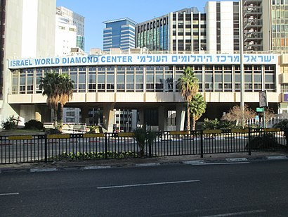 How to get to מתחם הבורסה with public transit - About the place
