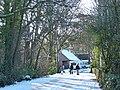 Entrance to the caravan park, Tredegar House Country Park - geograph.org.uk - 1653761.jpg