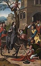 Entry of Christ into Jerusalem by Pieter Coecke van Aelst Bonnefantenmuseum 1246.jpg