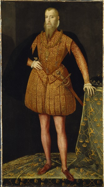 Erik XIV, 1533-1577, king of Sweden (Steven van der Meulen) - Nationalmuseum - 38906