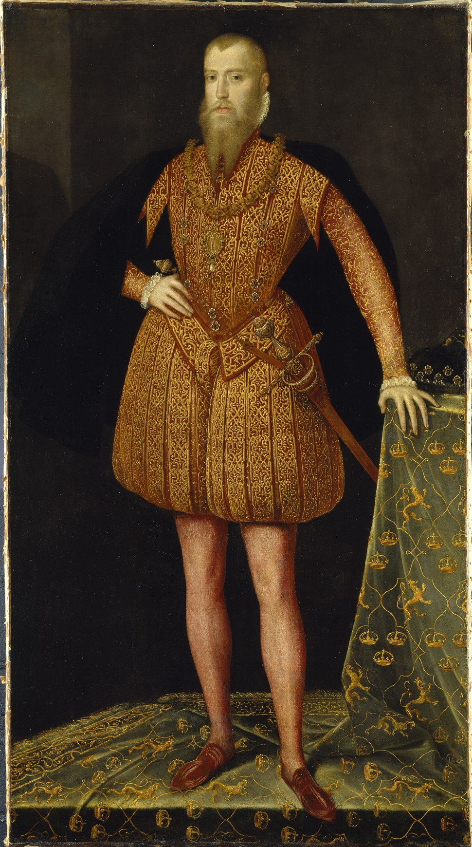 Erik XIV, 1533-1577, king of Sweden (Steven van der Meulen) - Nationalmuseum - 38906
