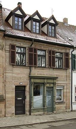Theaterplatz in Erlangen