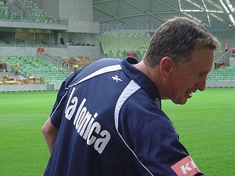 Ernie Merrick - Merrick in 2010