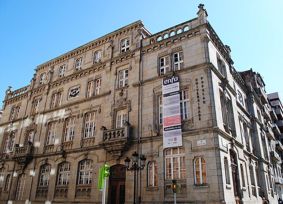 Escola de Artes e Oficios, ano 1900, Vigo