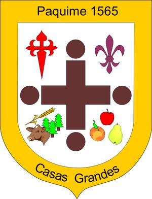 Casas Grandes Municipality - Image: Escudo Casas Grandes