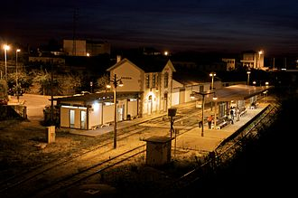 Águeda - The main railroad station in Águeda