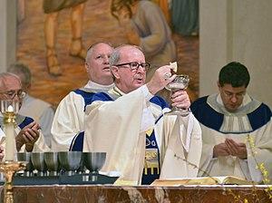 John Gerard Noonan - Bishop John Noonan celebrating mass at St. James Cathedral