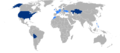 Eurocopter EC145 Operators worldwide.png