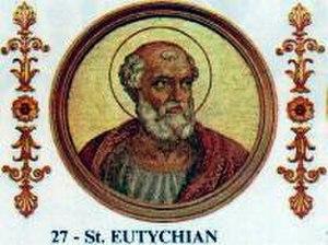 Pope Eutychian - Image: Eutychian