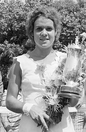 Evonne Goolagong Cawley - Goolagong at the 1971 Dutch Open