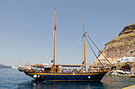 Excursion boat - Ormos port - Fira - Santorini - Greece - 01.jpg