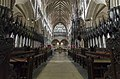 Exeter Cathedral, The choir (36232899304).jpg