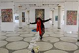 Exhibition of Natalia Chernogolova in Minsk Palace of Art 22.06.2014 02.JPG
