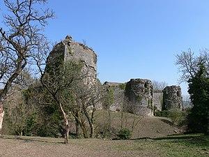 Lorraine Regional Natural Park - Ruins of the Château de Prény, original castle of the Dukes of Lorraine