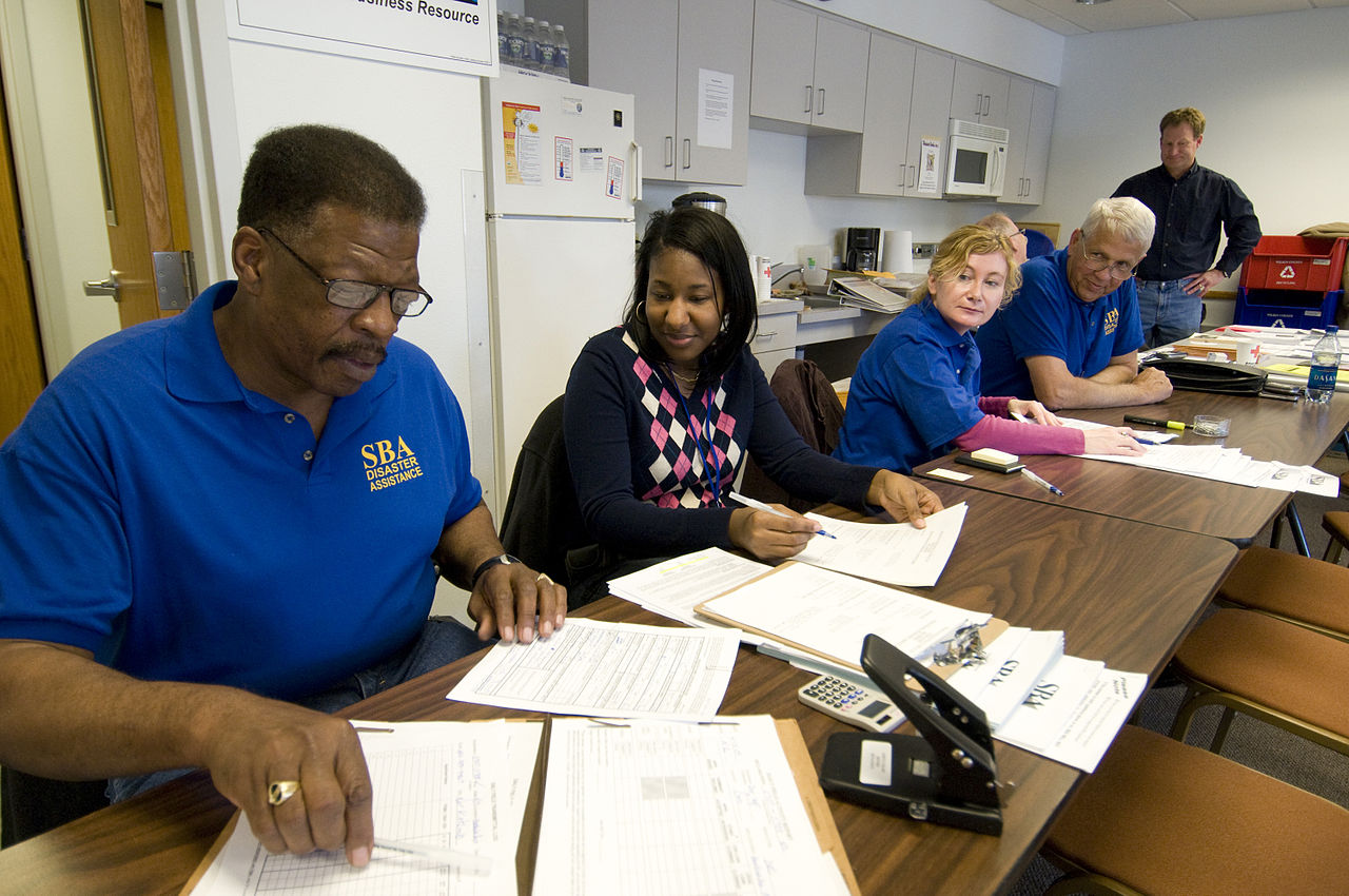 File:FEMA - 40756 - Small Business Administration team ...