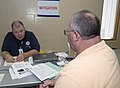 FEMA - 44565 - A FEMA Mitigation's specialist works with an applicant in Oklahoma.jpg
