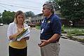 FEMA - 44929 - FEMA representative being interviewed by the press in Illinois.jpg