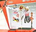 FIS Alpine Skiing World Cup in Stockholm 2019 Mikaela Shiffrin and Ramon Zenhauesern 5.jpg