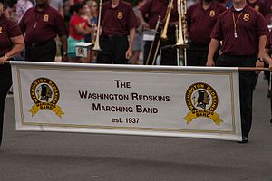 Washington Redskins Marching Band - Washington Redskins Marching Band banner