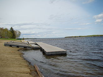 Whiteshell Provincial Park - Piers at Falcon Lake