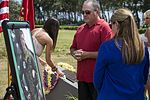 Families and service members honor fallen Marines 160517-M-ST224-824.jpg