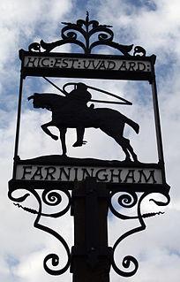 Farningham Human settlement in England