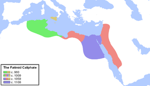 History of Shia Islam - Image: Fatimid Caliphate