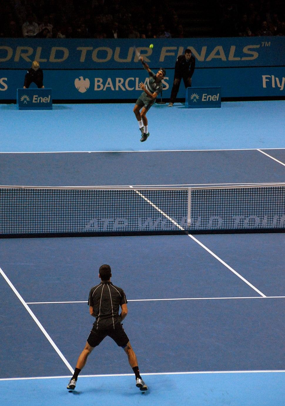 Federer v Djokovic (10895619005)