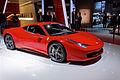 Ferrari 458 Italia - Mondial de l'Automobile de Paris 2012 - 001.jpg