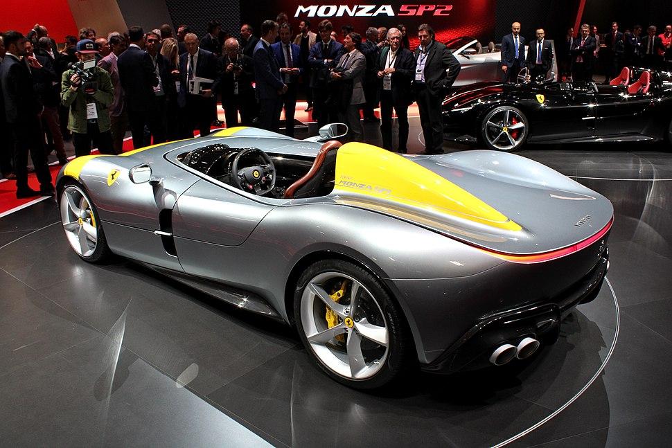 Ferrari Monza SP1, Paris Motor Show 2018, IMG 0363