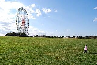 Hitachi Seaside Park public park in Hitachinaka, Ibaraki, Japan
