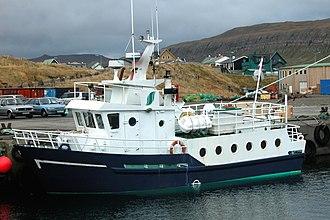Sandur, Faroe Islands - Image: Ferry Sandur Skuvoy