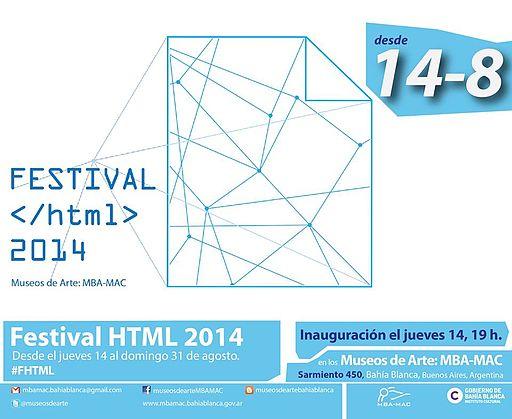 Festival HTML 2014