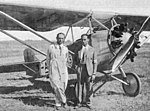 Fiat AS-1 with Francisco Lombardi and his mechanic L'Aéronautique August,1929.jpg