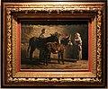 Filippo palizzi, stalla con due asinelli e tre figure, 1871.jpg