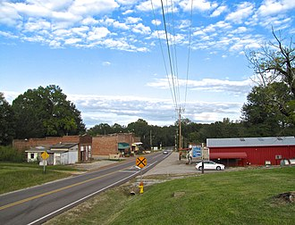Finger, Tennessee - SR 199 in Finger