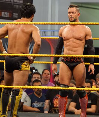 NXT TakeOver: R Evolution - Hideo Itami and Finn Bálor made their first TakeOver appearance at TakeOver: R Evolution.