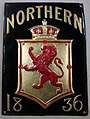 Fire mark for The Northern Assurance Company, Limited in London, England.jpg