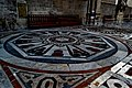 Firenze - Florence - Cattedrale Santa Maria del Fiore - View on one of the 3D Floor Patterns in Multi-Coloured Marble in the Side-Nave II.jpg