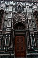 Firenze - Florence - Piazza del Duomo - View on North Wall Side-Entrance.jpg