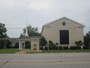 Buffalo, Texas - First Baptist Church of Buffalo
