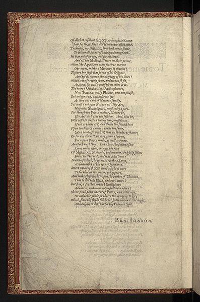 File:First Folio, Shakespeare - 0010.jpg