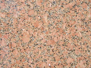 Granite A common type of intrusive, felsic, igneous rock with granular structure