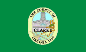 Millwood, Virginia - Image: Flag of Clarke County, Virginia