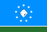 Flag of Mirninsky rayon (Yakutia).png