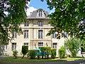 Fleurines (60), Saint-Christophe, le château, façade est.jpg